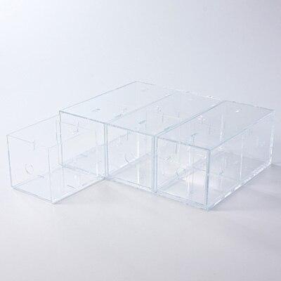 *ACRYLIC BOX 3 DRAWERS A4