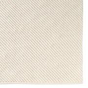 インド綿手織シェニールラグ/生成/200×200cmの商品画像