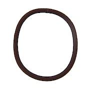 Hair Rubber Ring Brwn  1pc