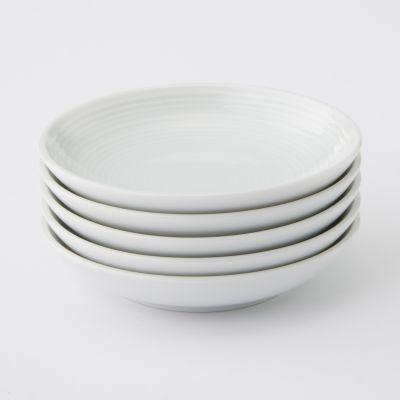 【まとめ買い】白磁小皿 5枚セット