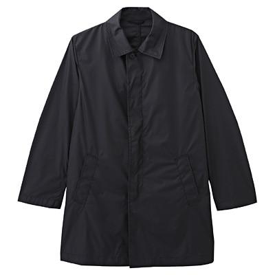 ポケッタブルステンカラーコート 紳士L・黒