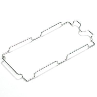 【パーツ】ポリプロピレンダストボックス・ペダル式・分別タイプ用袋止ワイヤー 約18×37×2.5cm