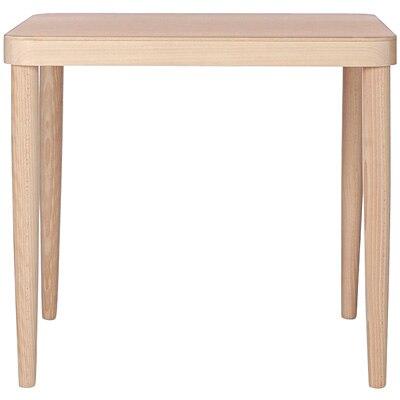 ブナ材テーブルS/ナチュラル/RT幅80×奥行80×高さ72cmの写真