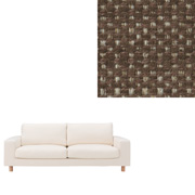 *sofa Widearm 2.5s Cover Ct Poly Bn