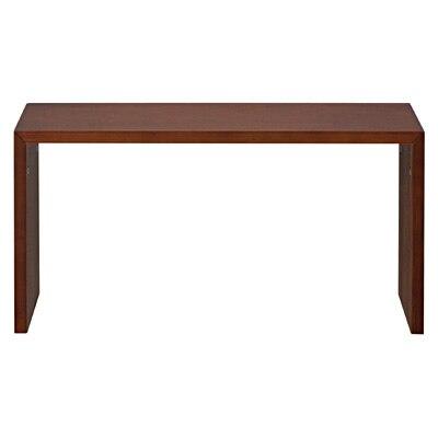 コの字の家具・積層合板・タモ材・幅70cm/ブラウン 幅70×奥行30×高さ35cm