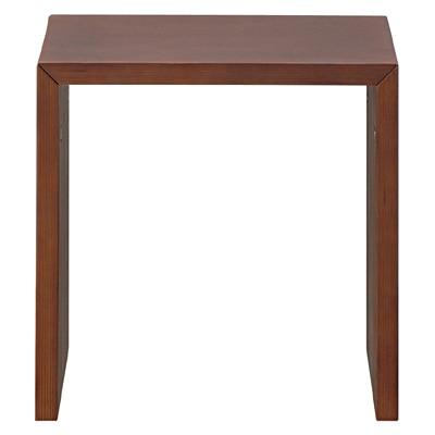 コの字の家具・積層合板・タモ材・幅35cm/ブラウン 幅35×奥行30×高さ35cm