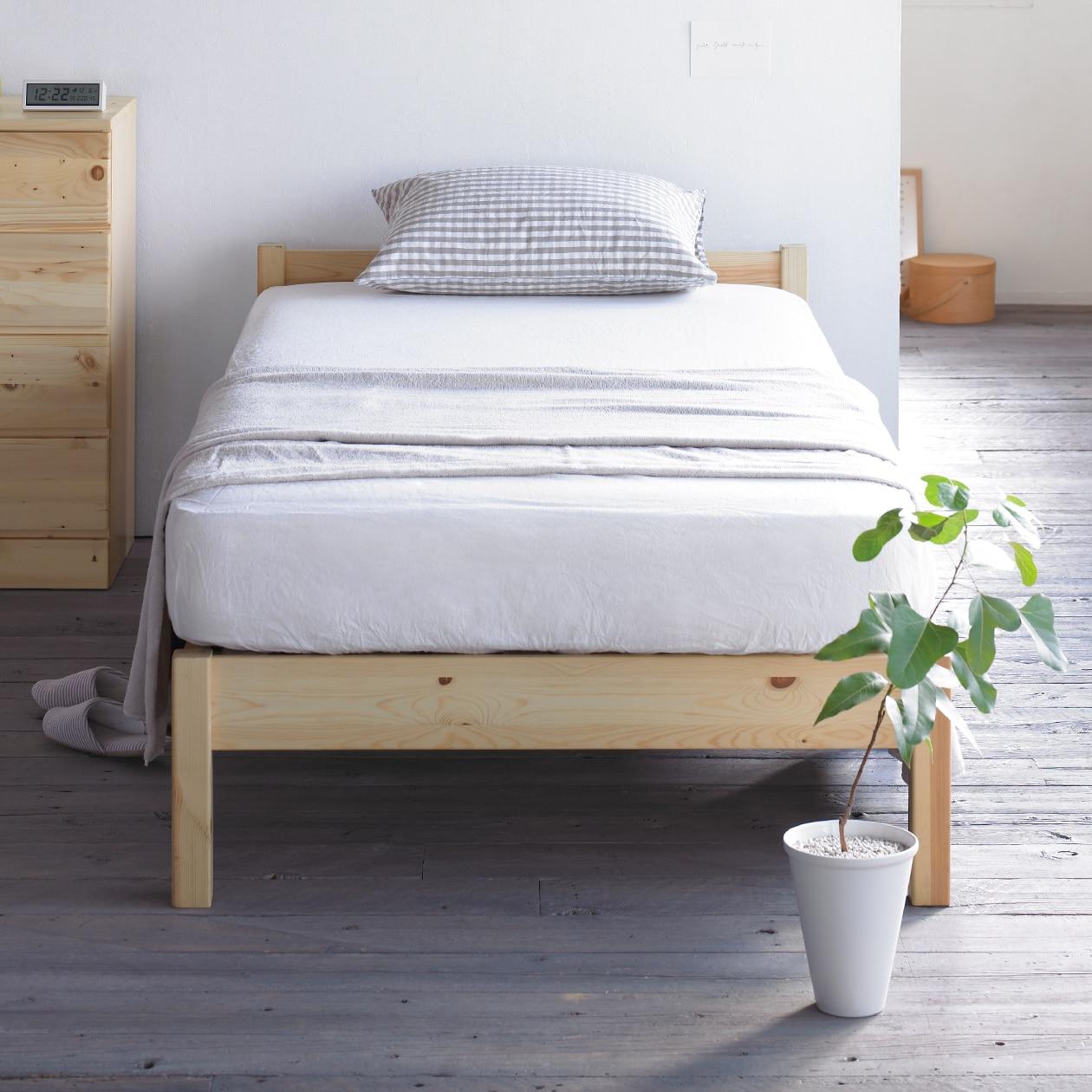 パイン材ベッド 通販 | 無印良品