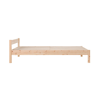 パイン材ベッド・シングル(2009SS)/幅100.5×奥行201.5×高さ58の写真