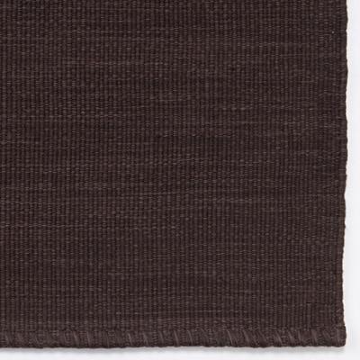 インド綿手織やわらかいマット/ブラウン/50×80cm