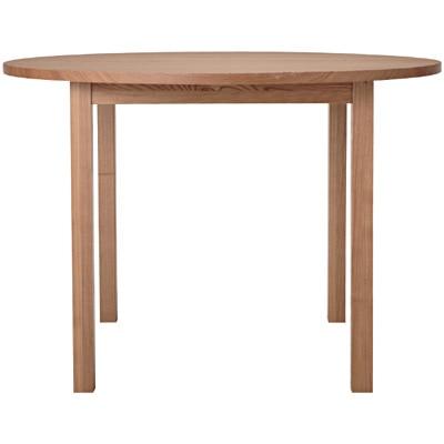 木製テーブル・丸・タモ材/ナチュラル