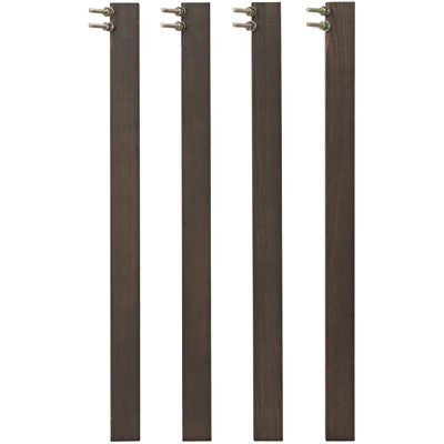 【パーツ】脚・ハイタイプ・木製テーブル・タモ材/ブラウン用