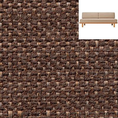 綿ポリエステル変り織木製ソファフレームカバー/ブラウン 木製ソファフレーム用(2009)