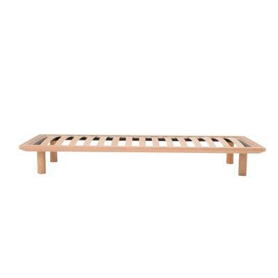 木製ベッドフレーム・シングル/タモ材・ナチュラル2009