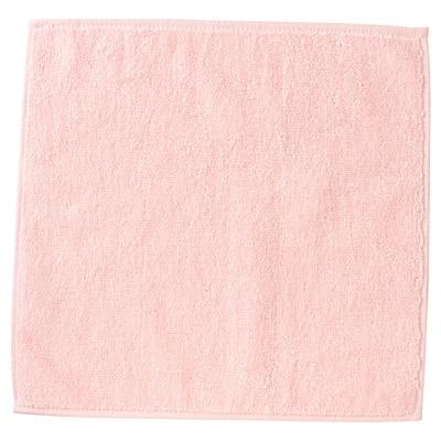 超長綿タオルハンカチ/25×25cm、ピンク