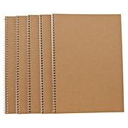 P-paper D/ring Notebk 5pcs/set Bg B5 Line 6mm 30s