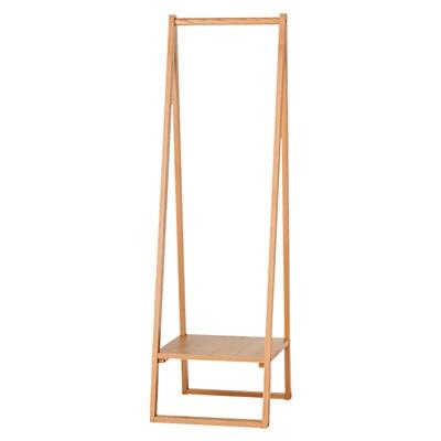 木製コートハンガー・タモ材/ナチュラル