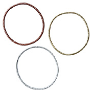 *hair Rubber Ring 3 Colors 3pcs