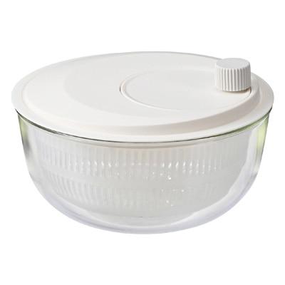 耐熱ガラスボール付き サラダスピナー/約直径23×高さ14cm