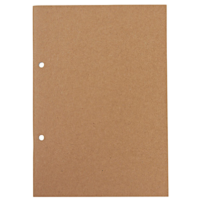 植林木ペーパー 組み合わせて使えるノート/A5・32枚・無地