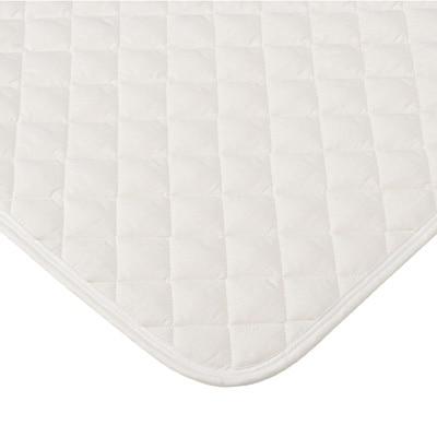 抗菌防臭ポリエステルわた洗えるベッドパッド・ゴム付/D 140×200cm