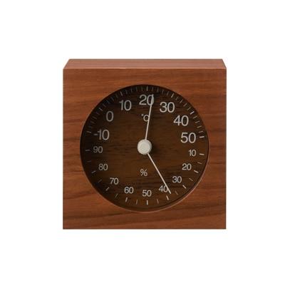 ウォールナット温湿度計