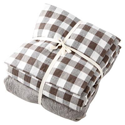 オーガニックコットン天竺の寝具カバー