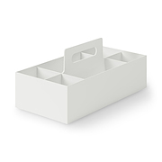 Pp Carry Box Wide A4 White