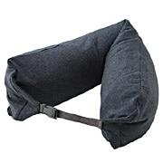 Neck Pillow, Melange Navy