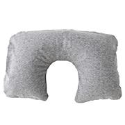 Cotton Blend Neck Cushion Melange Grey