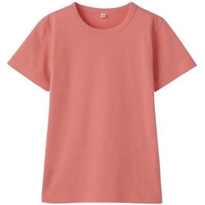 毎日のこども服半袖Tシャツ トドラー130・ライトピンク