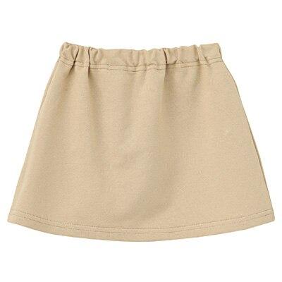 毎日のこども服スカート ベビー90・ベージュ