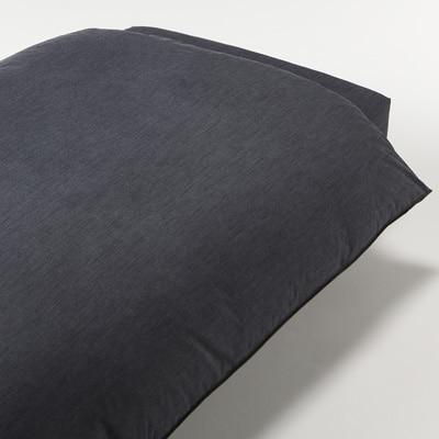綿デニム掛ふとんカバー・S/ネイビー 150×210cm用
