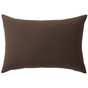 Organic Cotton Jersey Pillow Case 43 Brown
