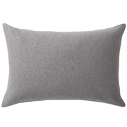 Organic Cotton Jersey Pillow Case 50 Gray