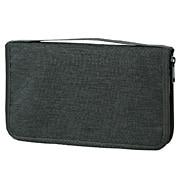 Passport Case Pocket Mlg Charcoal Grey