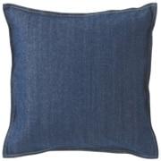 Cotton Denim Cushion Cover Blue