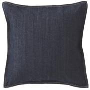 Cotton Denim Cushion Cover Navy