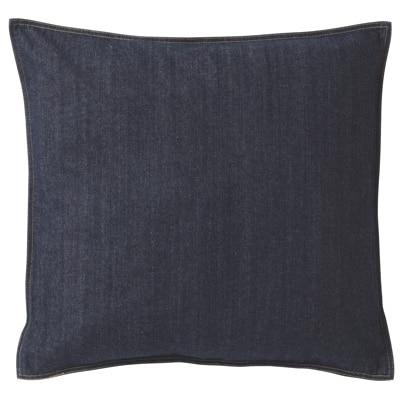 綿デニム座ぶとんカバー/ネイビー 55×59cm用