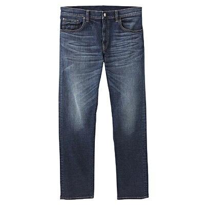 アメリカンコットン混デニムスリムパンツ 紳士W76・ブルー