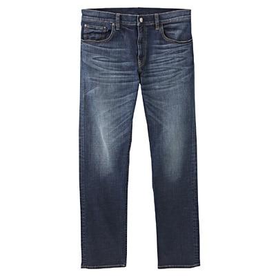 アメリカンコットン混デニムスリムパンツ 紳士W79・ブルー
