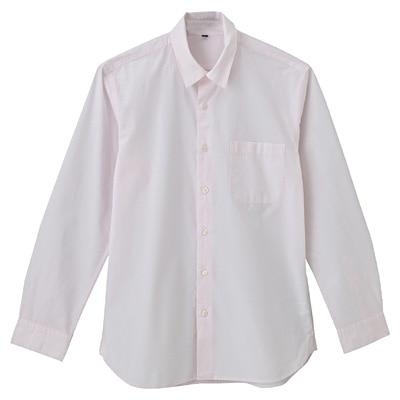 オーガニックコットンブロードシャツ(レギュラータイプ) 紳士XXL・ライトピンク