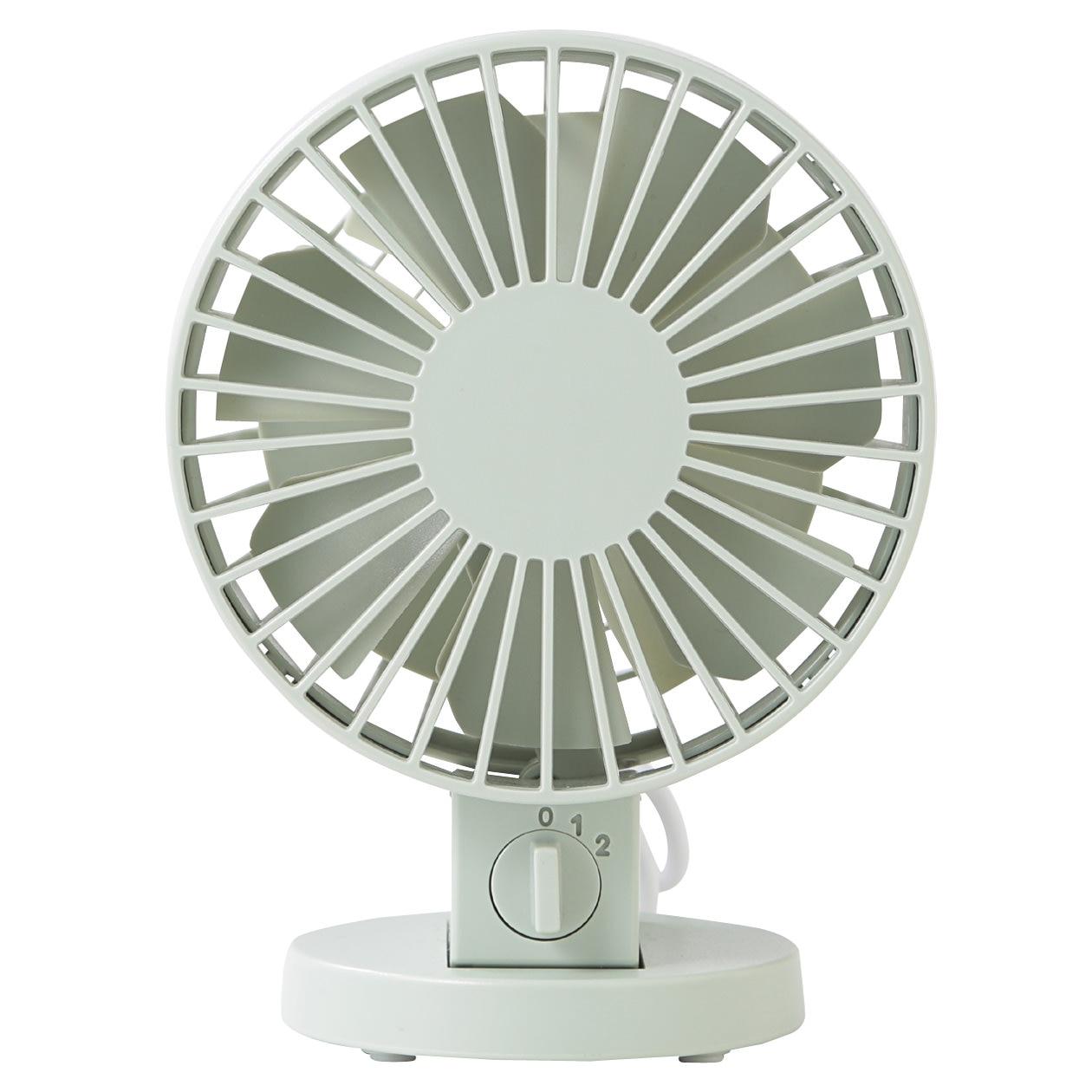 Usb Desk Fan Low Noise Green