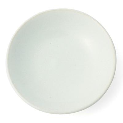 益子焼香皿・白灰釉