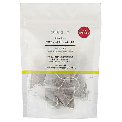 アロマティー マスカット&グリーンルイボス 10.8g(1.8g×6袋)