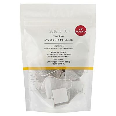 アロマティー レモンジンジャー&グリーンルイボス 12g(2g×6袋)