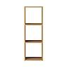 自由組合層架/橡木/3層/基本組/5A