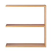 Stacking Shelf Oak 2r Wide Add A17