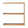 自由組合層架/橡木/2層/寬版追加用/5A