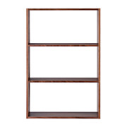 *gridshelf Walnut 3row Wide S17