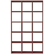 *gridshelf Walnut Set 5r3l S17